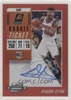 Rookie Variation Season Ticket - Deandre Ayton #/99