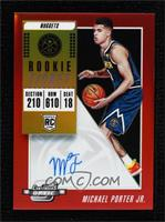 Rookie Season Ticket - Michael Porter Jr. #/149