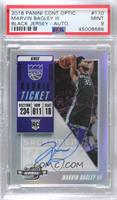 Rookie Variation Season Ticket - Marvin Bagley III [PSA 9 MINT]