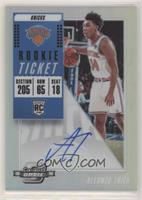Rookie Variation Season Ticket - Allonzo Trier