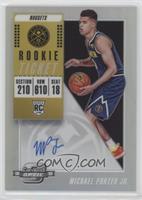 Rookie Season Ticket - Michael Porter Jr.