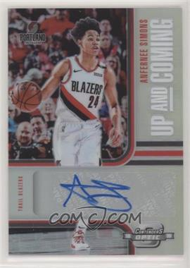 2018-19 Panini Contenders Optic - Up and Coming Contenders Autographs Prizms #UC-ASM - Anfernee Simons /99