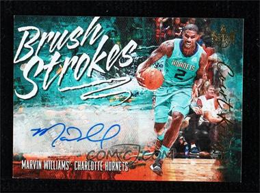 2018-19 Panini Court Kings - Brush Strokes Autographs #BR-MWL - Marvin Williams /149