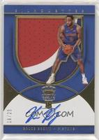 Rookie Silhouettes Autograph Jersey RPA - Bruce Brown /25