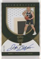 Rookie Silhouettes Autograph Jersey RPA - Donte DiVincenzo /25