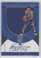 Rookie Silhouettes Autograph Jersey RPA - Kevin Knox /199