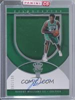Rookie Silhouettes Autograph Jersey RPA - Robert Williams III [Uncirculated] #/…