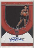 Rookie Silhouettes Autograph Jersey RPA - Anfernee Simons #/199