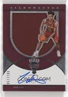 Rookie Silhouettes Autograph Jersey RPA - Collin Sexton /199