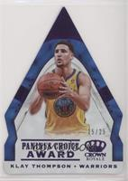 Klay Thompson /25 [EX to NM]