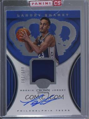2018-19 Panini Crown Royale - Rookie Jersey Autograph #RJA-LSH - Landry Shamet /199 [Uncirculated]