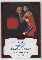 Rookie Jersey Autograph - Troy Brown Jr. /49