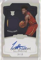 Rookie Jersey Autograph - Collin Sexton #/15