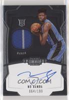 Rookie Jersey Autograph - Mo Bamba #/199
