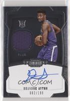 Rookie Jersey Autograph - Deandre Ayton /199