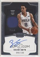 Rookie Jersey Autograph - Zhaire Smith #/199