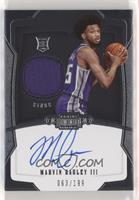 Rookie Jersey Autograph - Marvin Bagley III /199