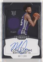 Rookie Jersey Autograph - Marvin Bagley III #/199