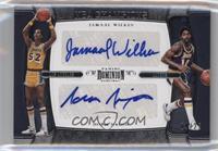 Jamaal Wilkes, Norm Nixon /25