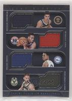 Michael Porter Jr., Troy Brown Jr., Zhaire Smith, Donte DiVincenzo #/99