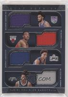 Marvin Bagley III, Wendell Carter Jr., Jerome Robinson, Lonnie Walker IV #/99