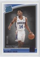 Rated Rookies - Allonzo Trier #/199