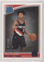 Rated Rookies - Anfernee Simons /199