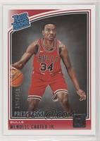 Rated Rookies - Wendell Carter Jr. #/349