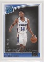 Rated Rookies - Allonzo Trier #/349