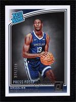 Rated Rookies - Jaren Jackson Jr. #/349
