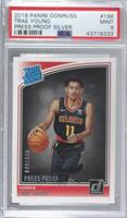 Rated Rookies - Trae Young [PSA9MINT] #/349