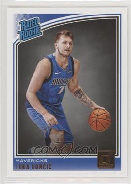 2018-19 Panini Donruss - [Base] #177 - Rated Rookies - Luka Doncic