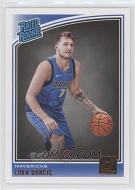 2018-19 Panini Donruss - [Base] #177 - Rated Rookies - Luka Doncic