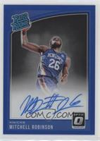 Rated Rookies Signatures - Mitchell Robinson #/49