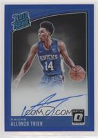 Rated Rookies Signatures - Allonzo Trier #/49