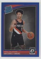 Rated Rookies - Anfernee Simons #/49
