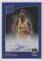Rated Rookies Signatures - Isaac Bonga /49