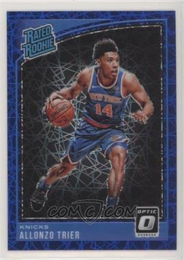 2018-19 Panini Donruss Optic - [Base] - Blue Velocity #175 - Rated Rookies - Allonzo Trier