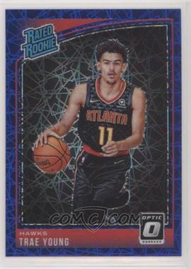 2018-19 Panini Donruss Optic - [Base] - Blue Velocity #198 - Rated Rookies - Trae Young