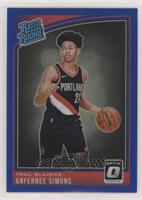 Rated Rookies - Anfernee Simons /49
