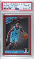 Rated Rookies - Devonte' Graham [PSA 10 GEM MT] #/88