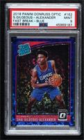 Rated Rookies - Shai Gilgeous-Alexander [PSA 9 MINT] #/50