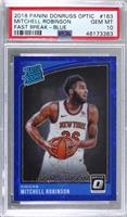 Rated Rookies - Mitchell Robinson [PSA 10 GEM MT] #/50