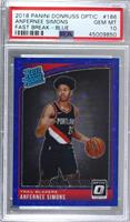 Rated Rookies - Anfernee Simons [PSA 10 GEM MT] #/50