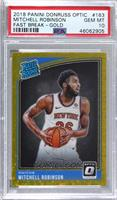 Rated Rookies - Mitchell Robinson [PSA 10 GEM MT] #/10