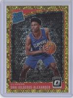 Rated Rookies - Shai Gilgeous-Alexander #/10