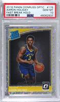 Rated Rookies - Aaron Holiday [PSA10GEMMT]