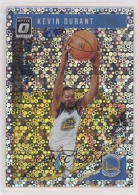 2018-19 Panini Donruss Optic - [Base] - Fast Break Holo #22 - Kevin Durant