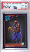 Rated Rookies - Deandre Ayton [PSA 10 GEM MT] #/95
