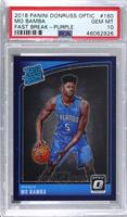 Rated Rookies - Mo Bamba [PSA 10 GEM MT] #/95